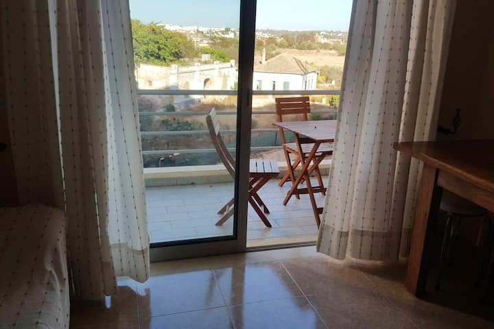 Property with one bedroom in Portimão, with wonderful lake view and furnished terrace - 600 m from the beach