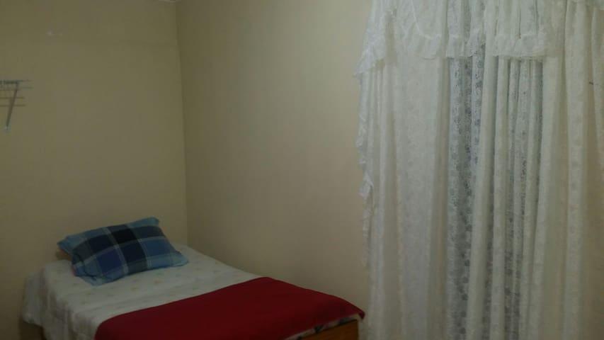 Habitacion de Alquiler para 1 o 2 personas.