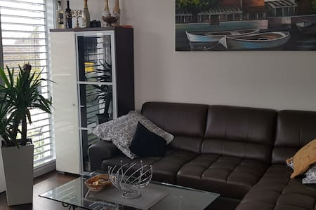 Bedroom with private bath close to zurich airport