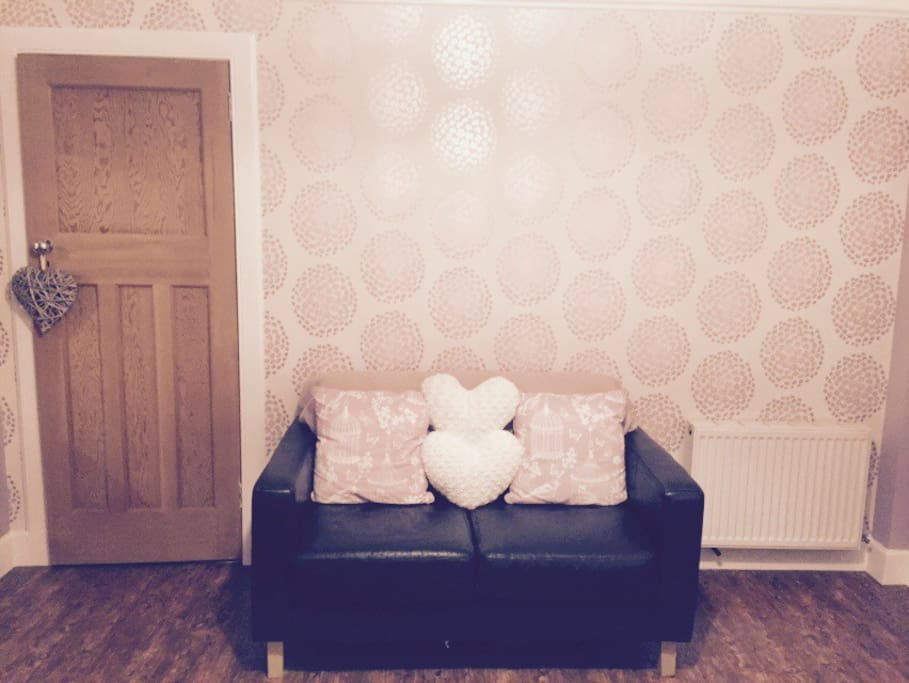 Newly decorated spacious double room.
