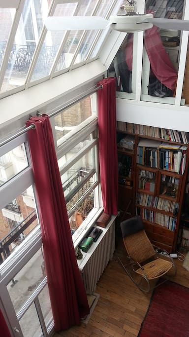 the living room : artist studio