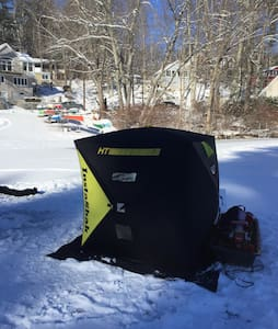 Ice Fishing and Snowmobiling - Windham - House
