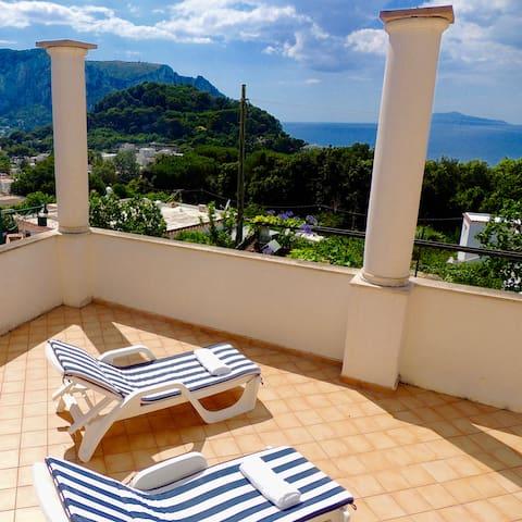 Casa panoramica a Capri