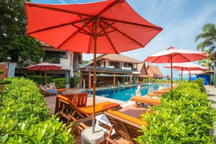 Full Moon Resort Villa With Garden View