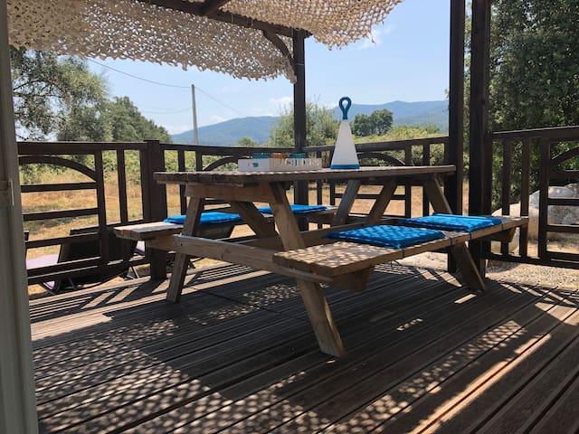 BUNGALOW - nature, calme à 5MIN de la MER/MONTAGNE