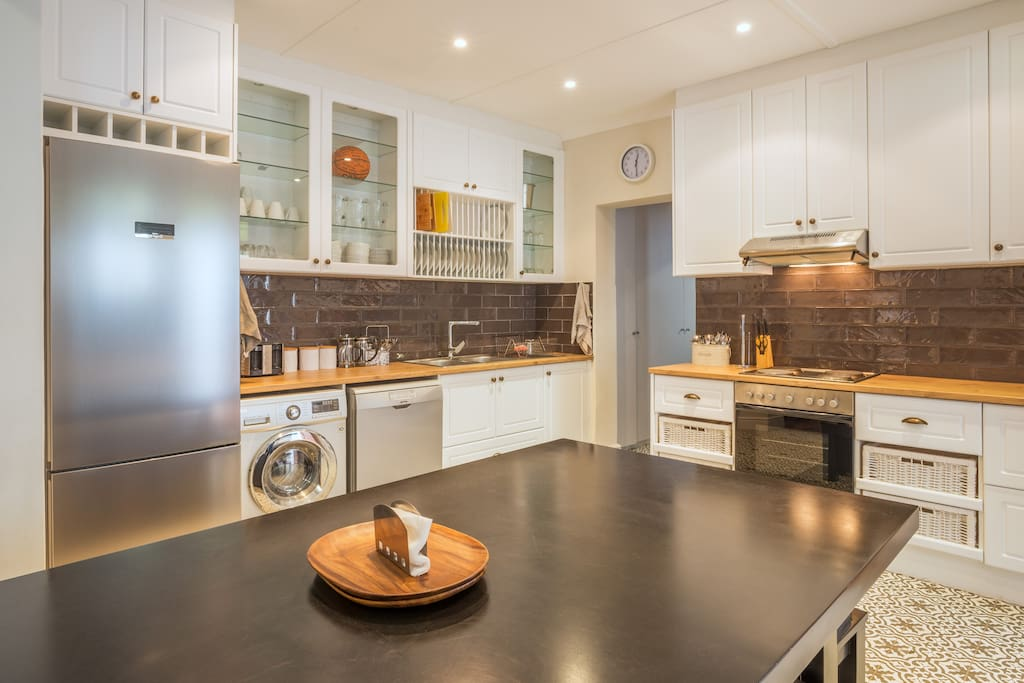 """""""I thought the house was the perfect size for the number of people we had (14).  I enjoyed how big the kitchen was, it allowed us all to be in one space at one time."""" -Andy C. (Zebra Crossing Group, NYC, USA)"""