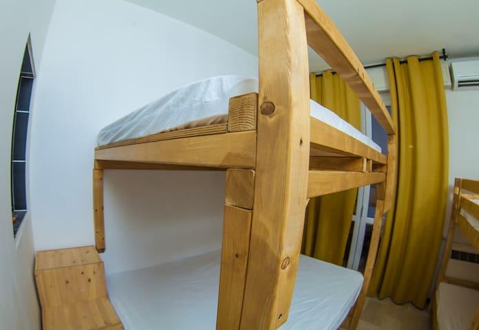 Tiny-Hostel like Room [DOUBLE BEDS / BOTTOM]