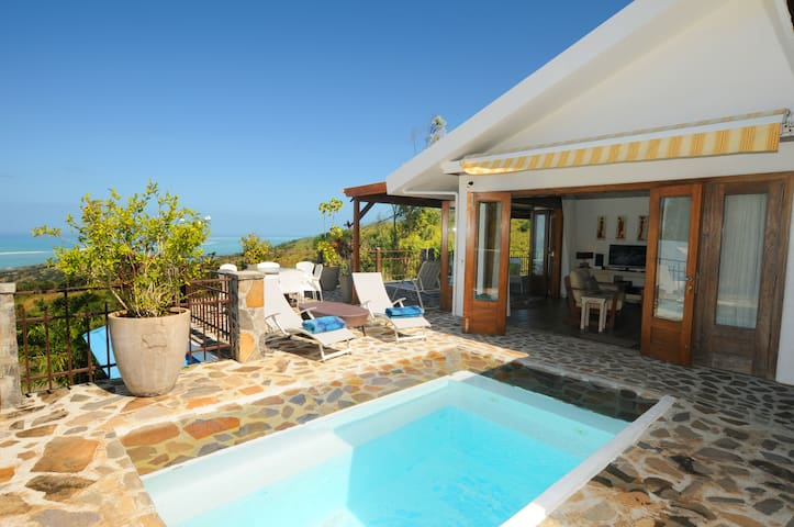 Mon Repos great Lagoon View & pool rodrigues