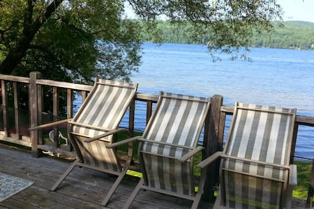 Sunset Cove Cottage Kamamiskeg Lake - Stuga