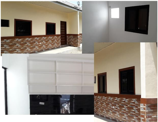 New Unfurnished 2-BR apmt (near Plaridel Airport)