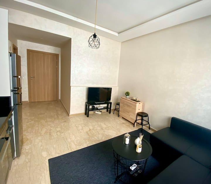 Appartement confortable et lumineux. Face  au parc