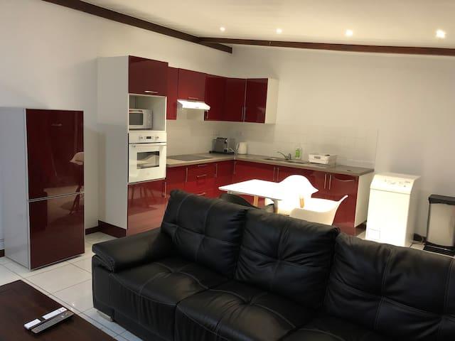 Maison F2 confort et tranquillité
