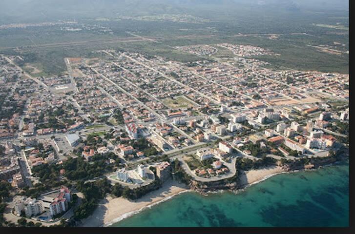 Vista aérea de Miami, zona de calas