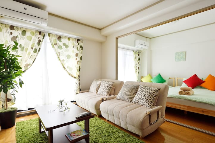 LIKE UR HOME;to NAMBA 4min by TR;15min by Walk - Naniwa-ku, Ōsaka-shi - Byt