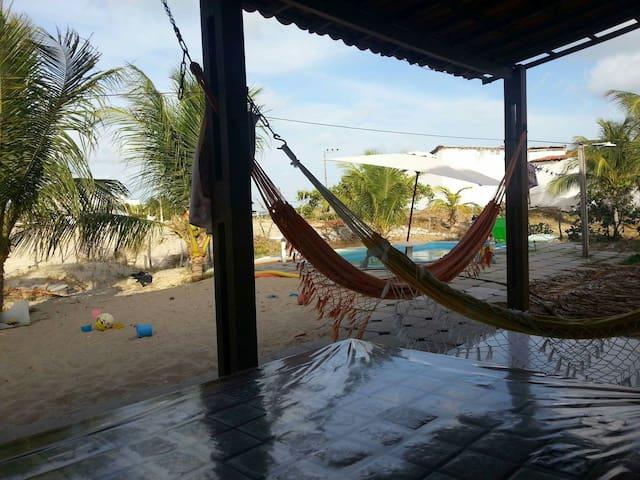 Ampla e confortável casa de praia