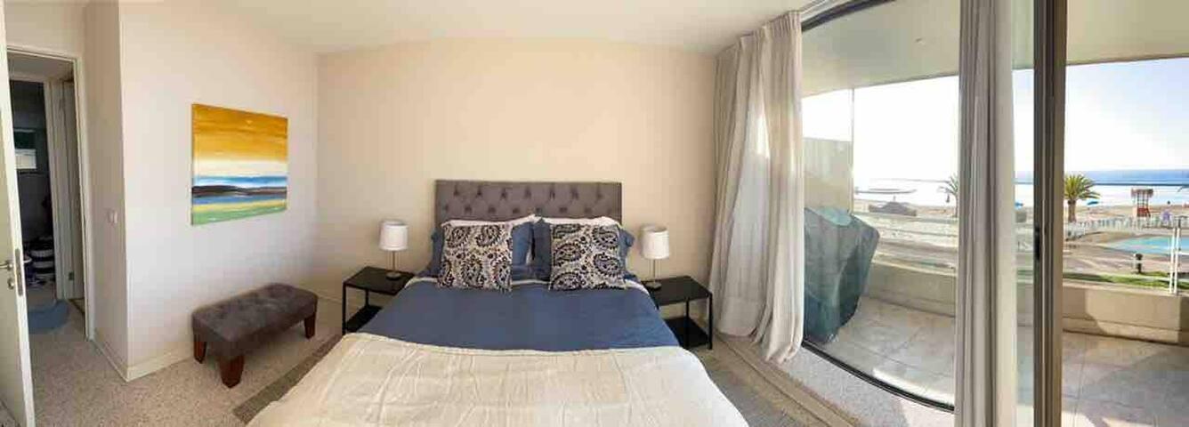 Cuarta Habitación , cama Doble Vista al Mar