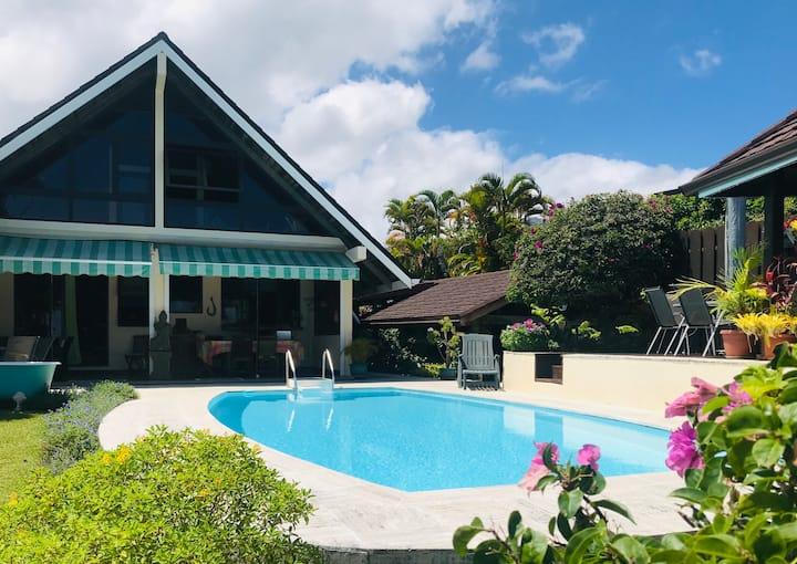 Villa Irikana - Vue mer et montagnes