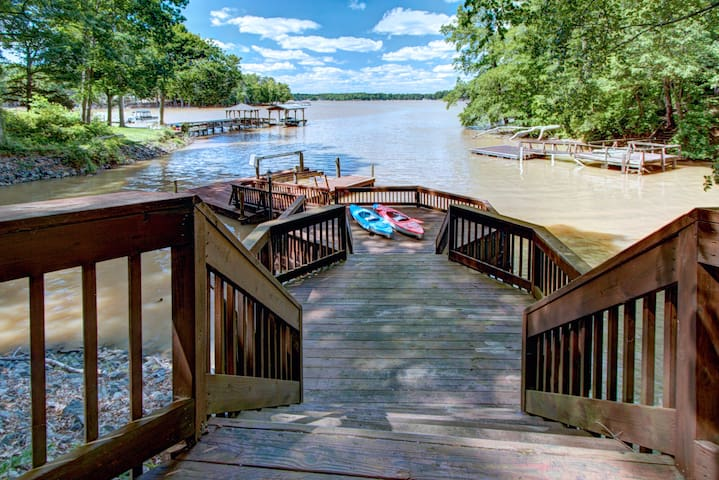 Lake Wylie Retreat ★ Family Activities ★ Boating