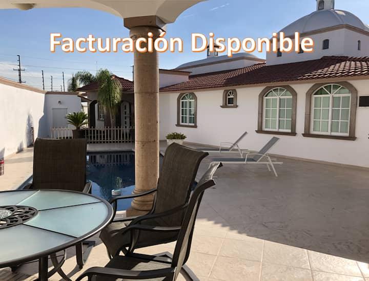 Splendid House & Pool. Juriquilla. 1-7PAX