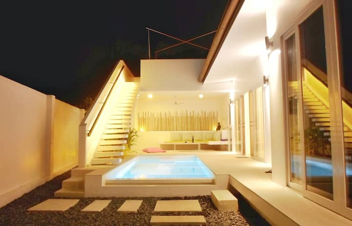 CHUAN CHOM VILLA WITH PRIVATE POOL AND ROOFTOP : OUR  KOH SAMUI HEAVEN !
