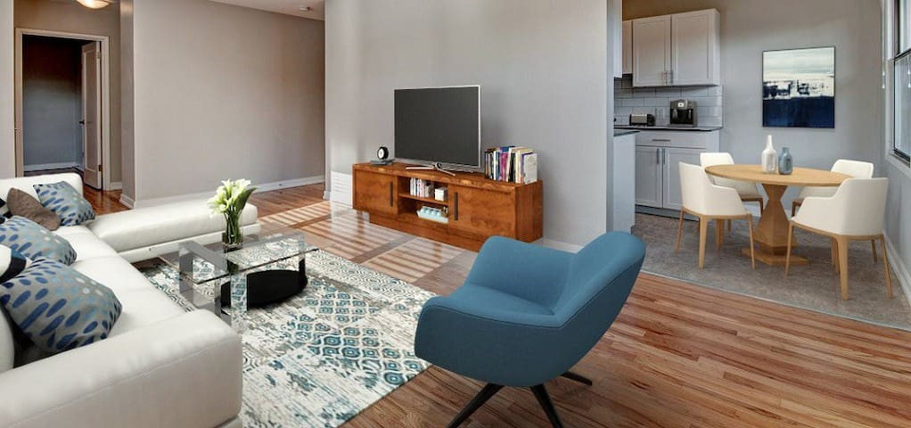 Professionally maintained apt | 1BR in Seattle