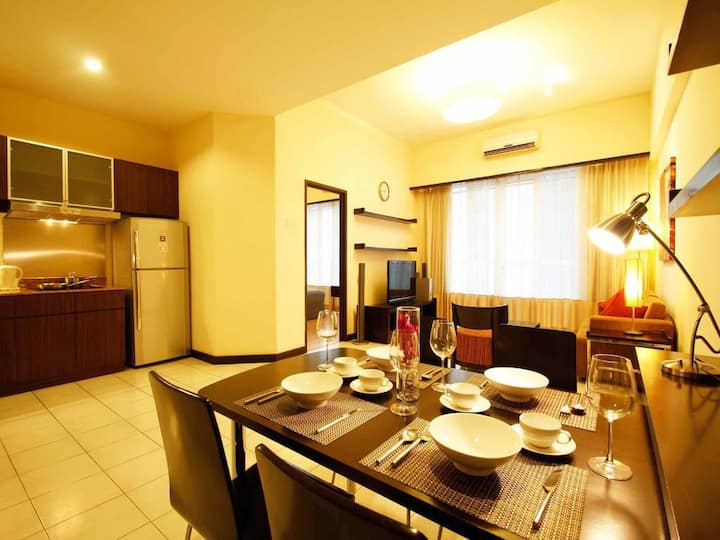 roomy' Cozy 1bedrooms s6@ bukit bintang, pavillion
