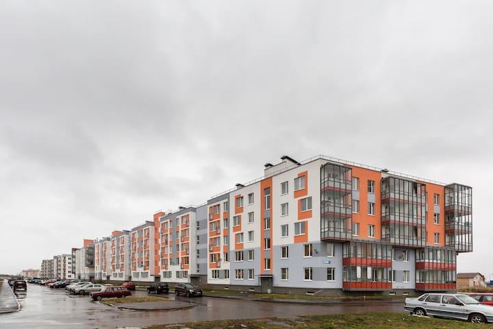 Уютная 1-комнатная квартира в Петергофе - Petergof - Huoneisto