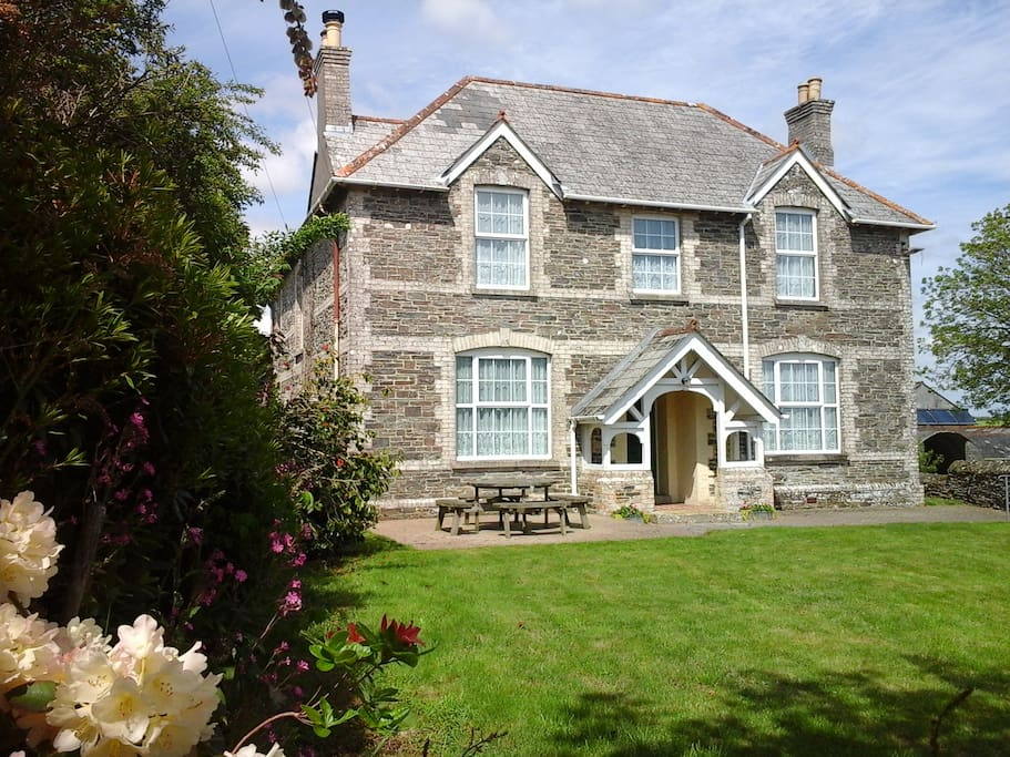 The main farmhouse. We offer B&B here too!