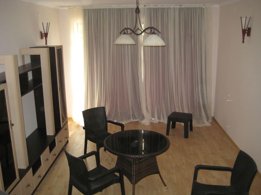 Новая мебель, уютный интерьер.