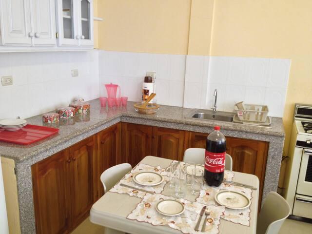 Apartamento amoblados junto al mar - Crucita - Daire