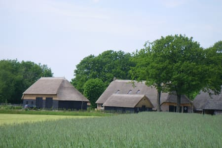 Boerderijlodges in monumentale boerderij, Drenthe - Dwingeloo - Σπίτι
