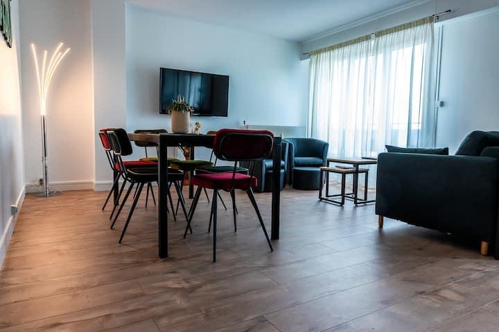 Bel appartement au bord de l'Allier classé 4*