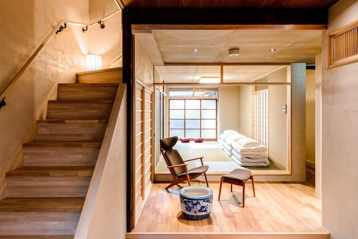 5 min walk - KIYOMIZU Temple ~10pax - Kyōto-shi - Huis