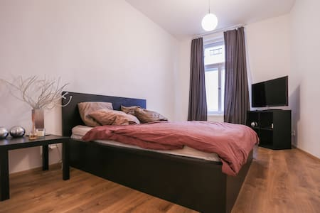 nice bedroom 5min from city centre - Praha - Wohnung