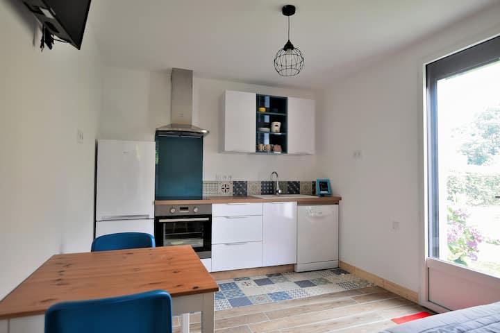Appartement cosy avec terrasse classé 3*