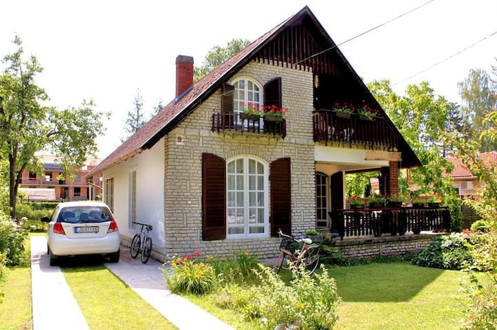 2 Apartments + 1 Wooden House for rent in Szantod - Szántód - Pensione