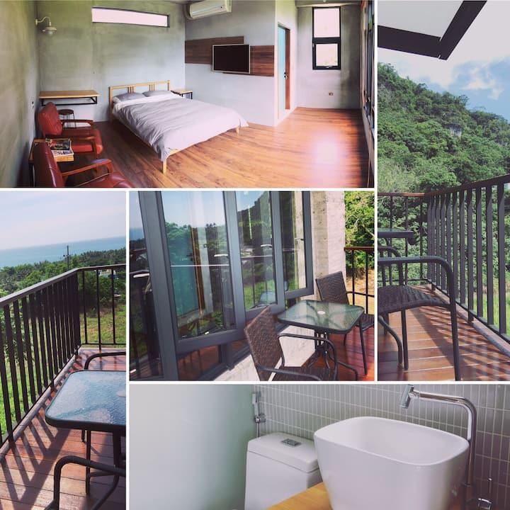 好待goodstay 2F海景2人房double-bed room2F