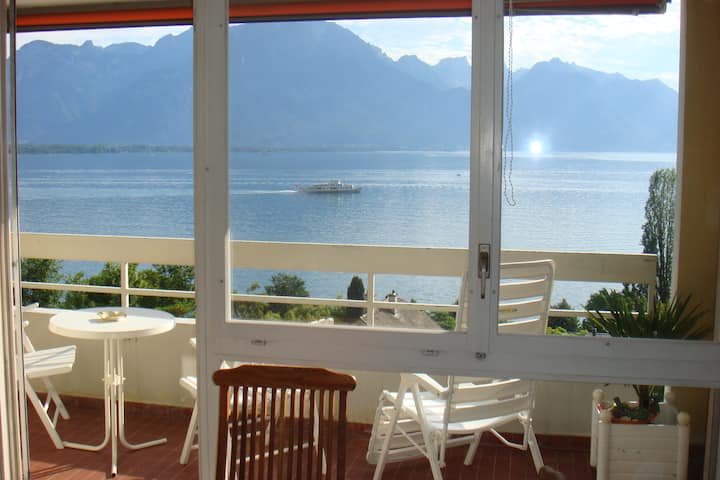 Furnished flat LA MOUETTE Montreux