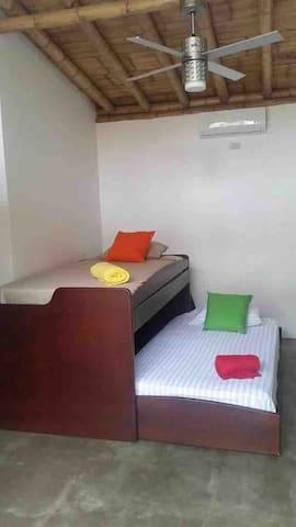 Room #2 Bunk beds