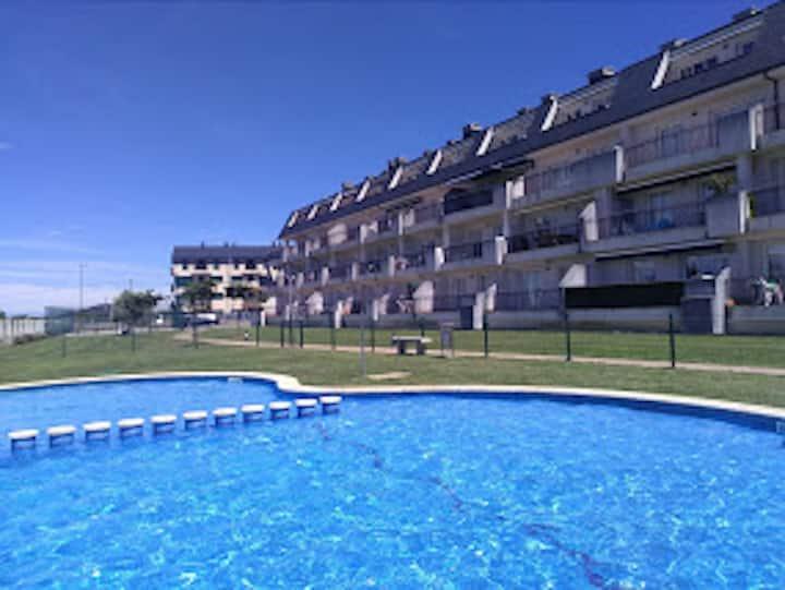 Playa del Altar, apartamento con vistas y piscina