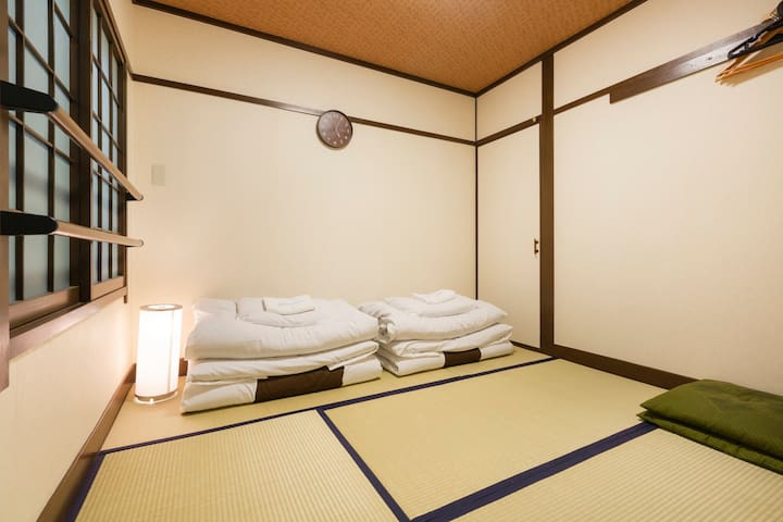 Near kyoto sta/Japanese style Room for 2ppl