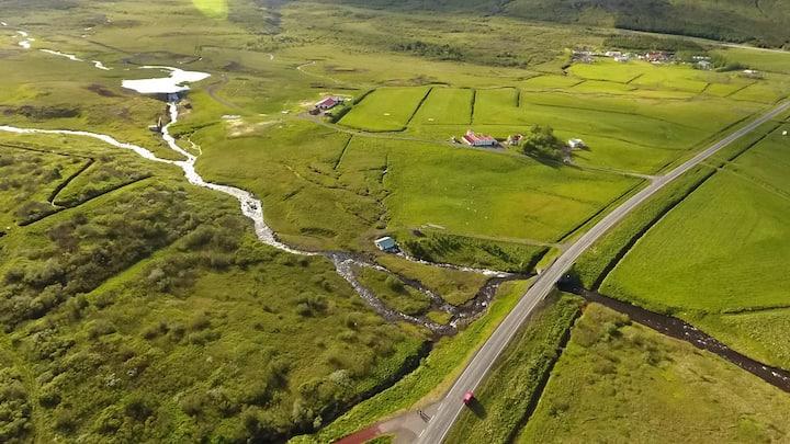 Eyvindartunga farm cottage - renewable energy