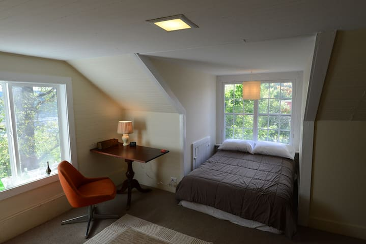 Cornell and River View Bedroom