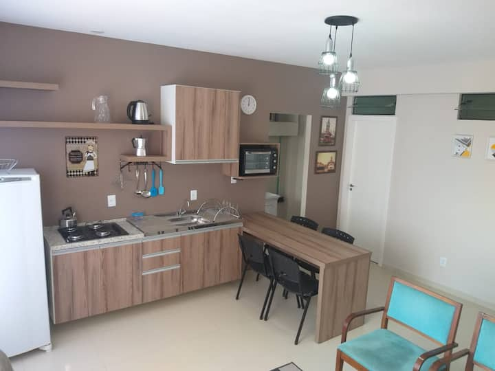 Apartamento 02 NOVINHO do Ed. Leopoldo Chiappetti.