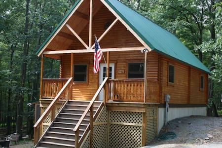 Serene West Virginia Cabin Mountain Getaway - Great Cacapon