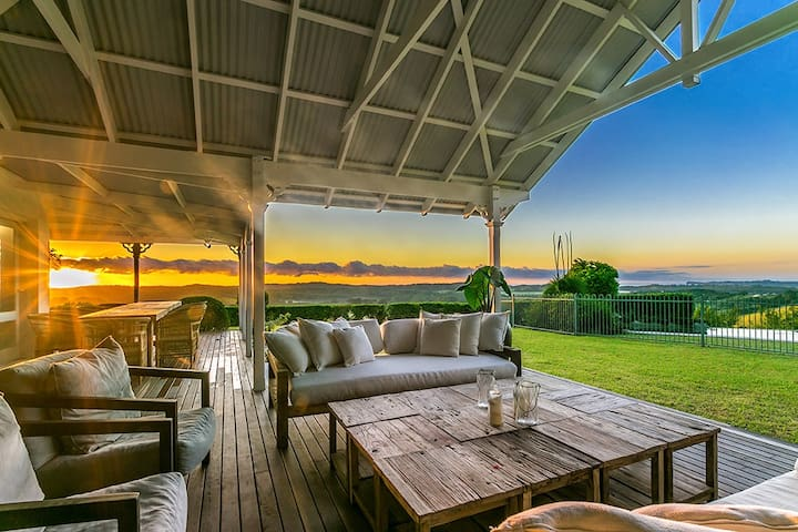 The Coast, Byron - An Oasis in the Hinterland - Coopers Shoot - House