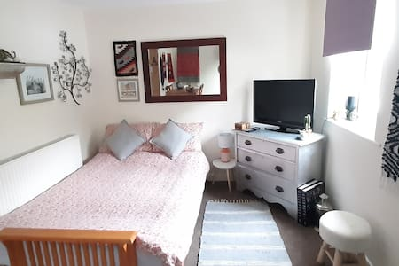Bohemian Room & Balcony, in the heart of Snowdonia