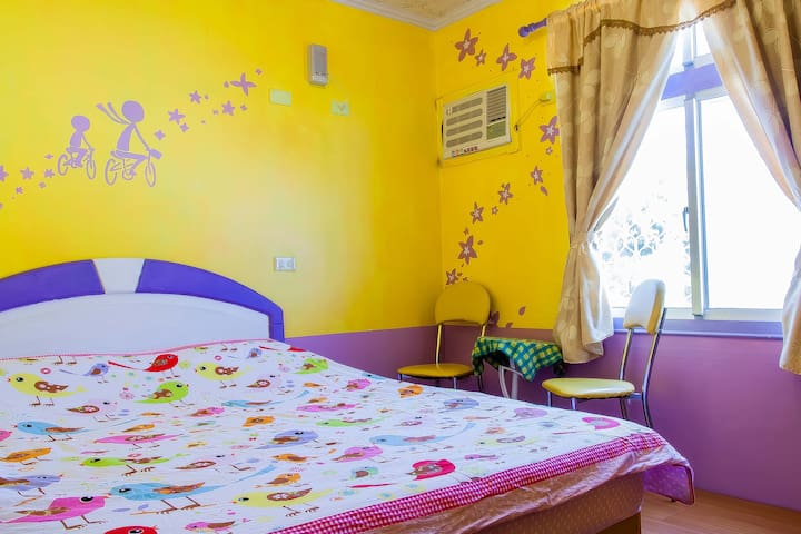 Eveningsun幸福月光-標準雙人房(特惠房型) - Lvdao Township - Bed & Breakfast