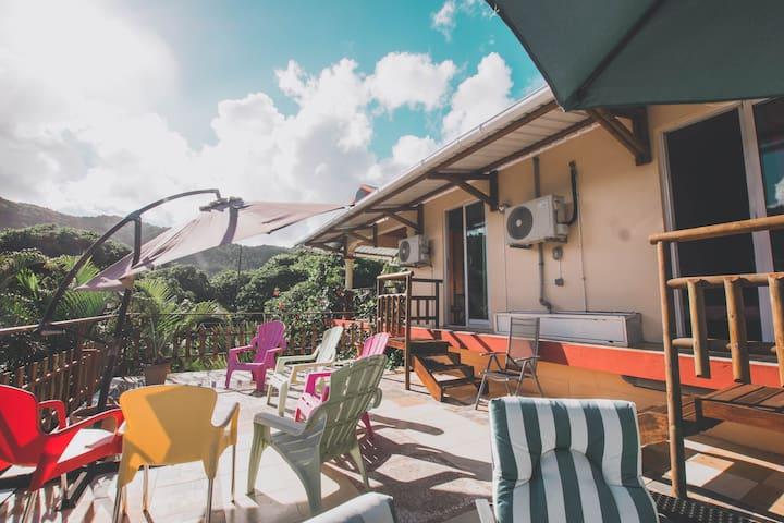 Private Room (2 Beds) - Villa la Romance Kreol
