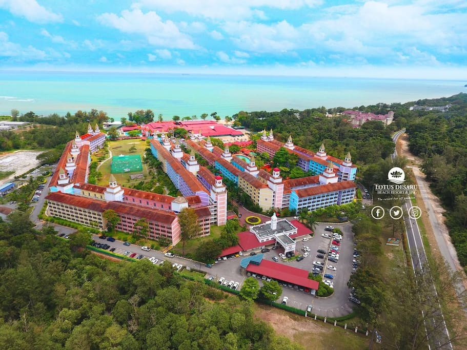 Resort complex overview